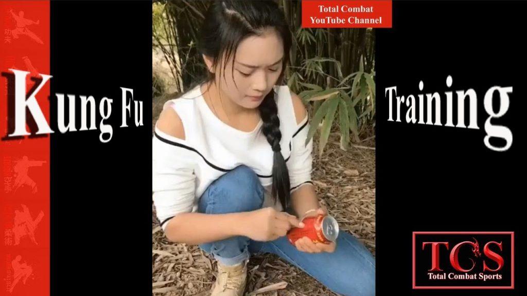 Kung Fu Girl In Training