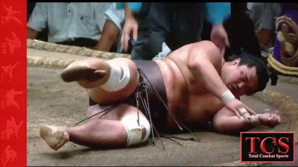 Sumo Wrestling fastest knockout ever